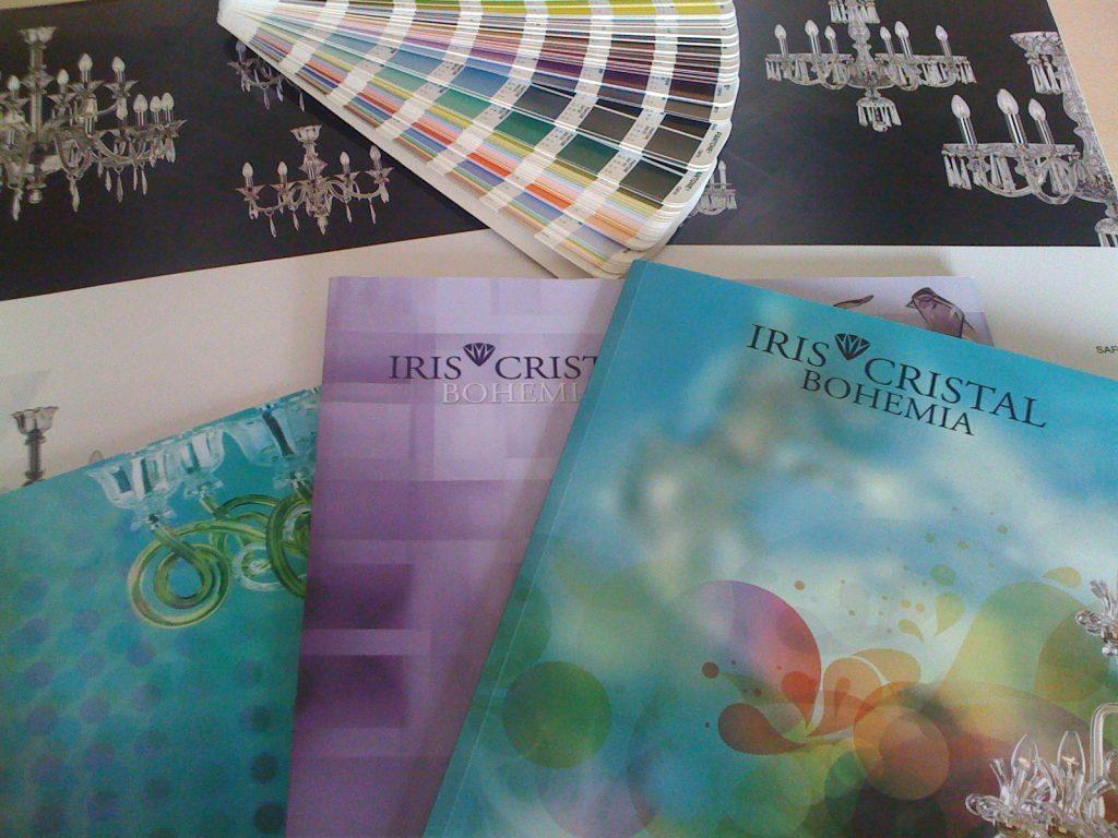 Catálogo de producto para Iris Cristal