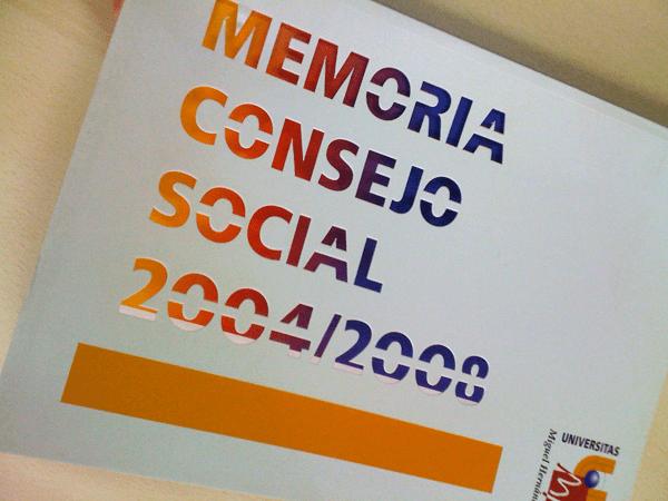 Memoria para el Consejo Social - Universidad Miguel Hernández