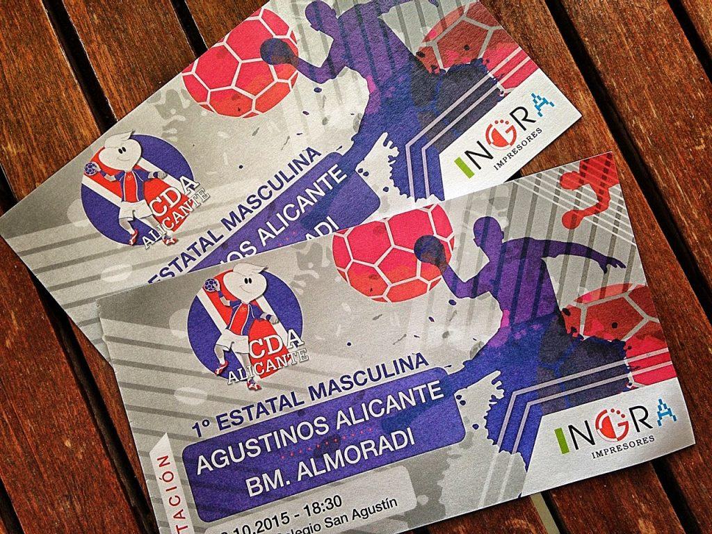 Invitacion partido de Balonmano Agustinos