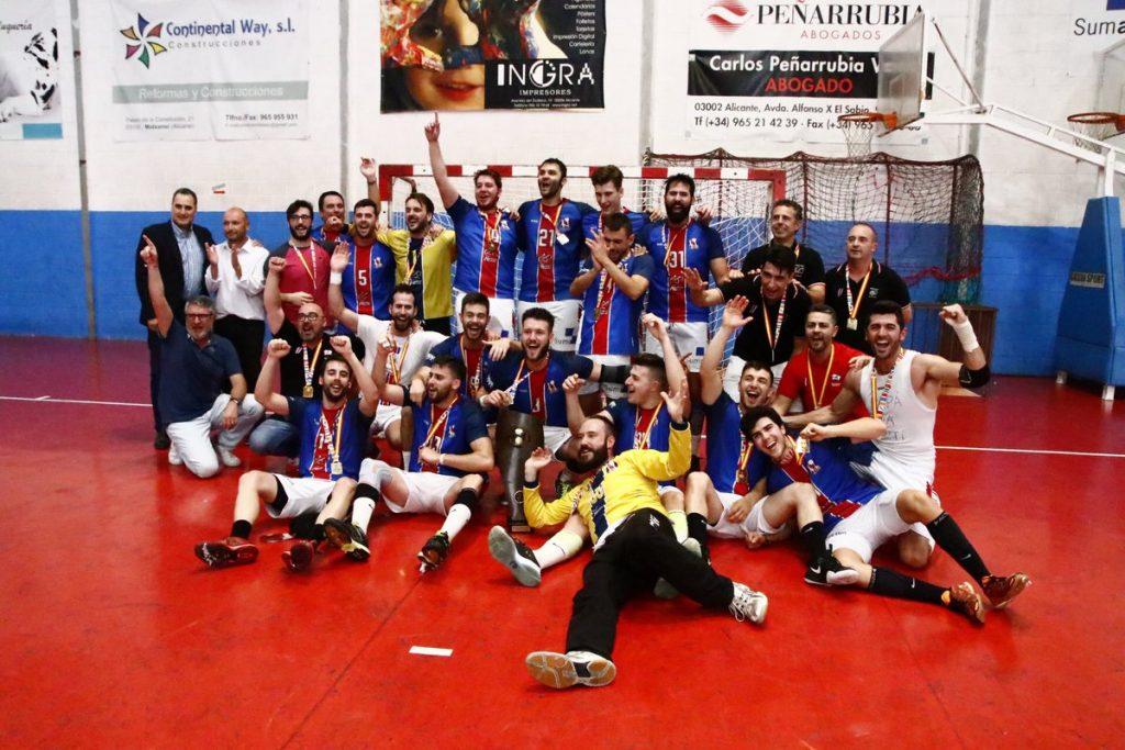 Agustinos Alicante a división de plata del balonmano español