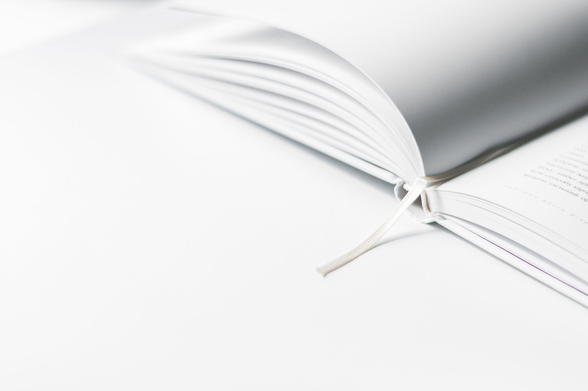 Libro - foto Olia Gozha