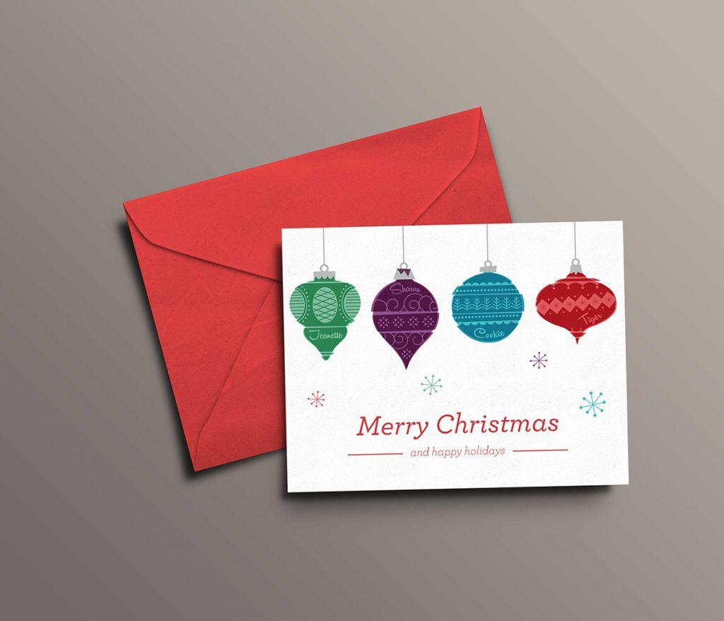 Felicitación de Navidad - Ingra Impresores
