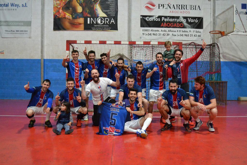 Agustinos de Alicante Campeones de Liga