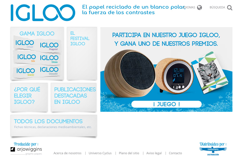 concurso papel igloo