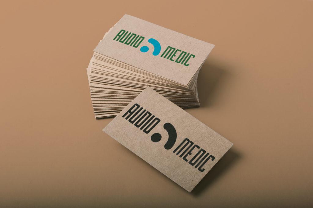 ejemplo de tarjetas kraft