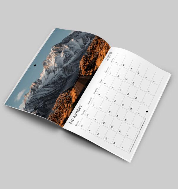 Calendario Revista A4
